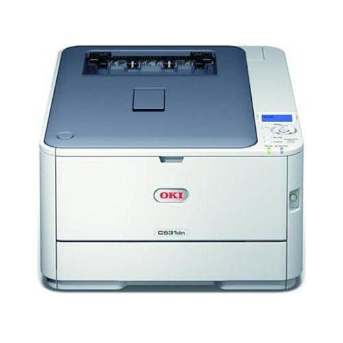 Oki Data C531dn Digital Color Printer (27/31ppm), 120V (E/F/P/S) from OKI