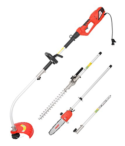 Hecht 690 Rot Elektro-Multifunktion Gartenwerkzeug