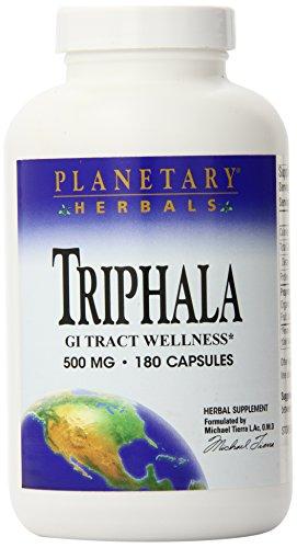 Planetary Herbals Triphala 500 mg- 180 Capsules Pack of 2