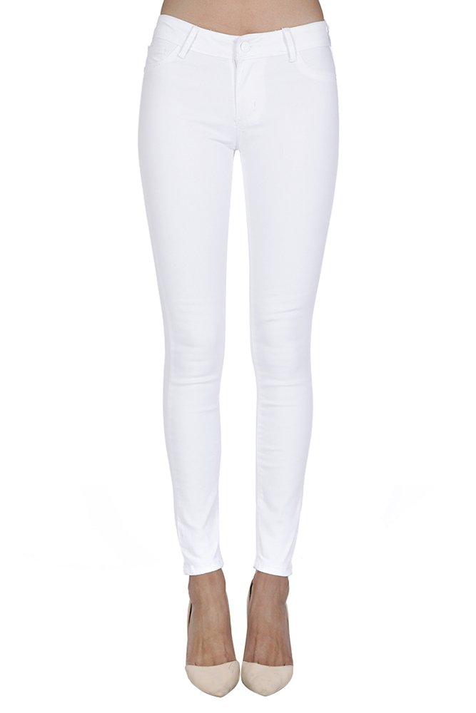 Anymore Jeans Women's Skinny Color Butt Lift Jeans