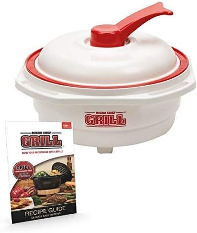 Micro Chef Grill Deluxe 6 en 1 - Olla para horno de microondas ...