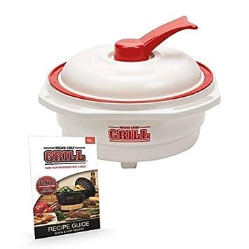 Micro Chef Grill Deluxe 6 en 1 - Olla para horno de ...