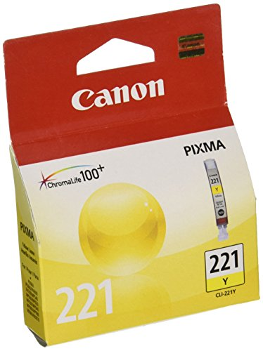 Canon CLI-221 Yellow Ink Tank Compatible to MP980, MP560, MP620, MP640, MP990, MX860, MX870, iP4600, iP3600, iP4700