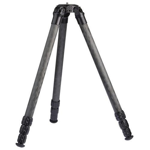 ProMediaGear Pro-Stix 34 Series 71'' 4 Long Section Carbon Fiber Tripod with 34mm Diameter Legs, 60 lbs Capacity by ProMediaGear