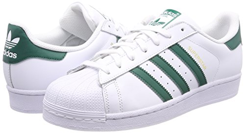 White Adidas footwear Superstar Tongs footwear Homme 0 Blanc White Green collegiate rw6AAXqyR