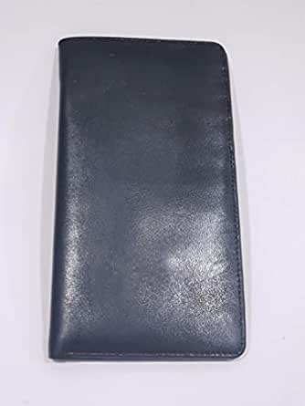 Black Leather For Unisex - Passport Wallet