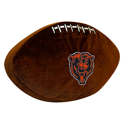 - Officially Licensed NFL Chicago Bears 3D Sports Pillow
