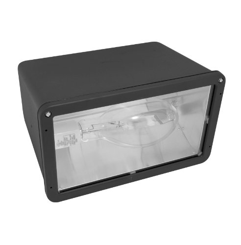 Halide Pulse Floodlight Start Metal (Howard Lighting HFL-400-PS-4T-A Horizontal Flood Light with 400W Pulse Start Metal Halide)