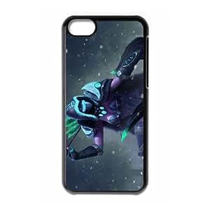 Dota2 DROW RANGER iPhone 5c Cell Phone Case Black DIY Gift pxf005-3626940