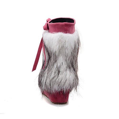 Inne Gull Støvler Ornament Frostet Høyne Pels Spunnet Rosa Kvinners 1to9 Bowknot z0qWBwHaEx