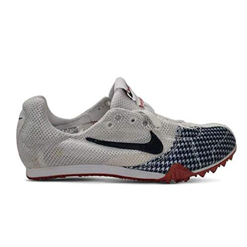 Nike Women's NIKE ZOOM JANA STAR III TRACK AND FIELD SHOES 6 (WHITE/OBSIDIAN/SPORT RED)