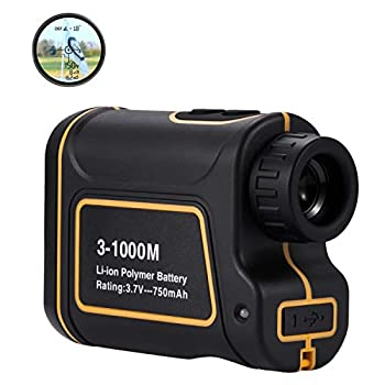Image of Abdtech Golf Range Finder 656Yards, USB Rechargeable Rangefinder with Flag Pole Lock Range Speed Scan Mode for Hunting Golf Course Hiking Climbing, Compact Laser Rangefinder Easy to Use for Outdoor Laser Rangefinders