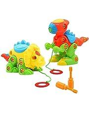 Dinosaurios Juguetes Construccion Niños Puzzle Tiranosaurio Rex Monoclonius Ensamblar Juguete educativo para Niños 3 4 5