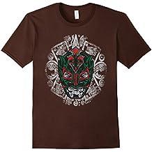 Legends of Lucha Libre Rey Fenix Aztec Calendar T-shirt