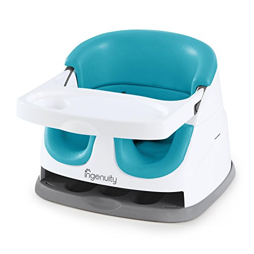 Ingenuity Baby Base 2-in-1 Seat - Peacock Blue - Booster Feeding Seat from Ingenuity