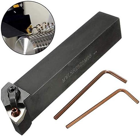 Werkzeug Fräser Holzbearbeitung Werkzeug Drehen Drehmaschine Werkzeughalter for WNMG0804 Karbid-Einsätze 25x25x150mm MWLNR2525M08