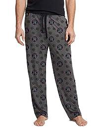 NBA Toronto Raptors Twin Logo Mens Pajama PJ Lounge Pants
