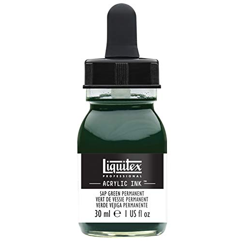 Check expert advices for liquitex acrylic ink sap green?