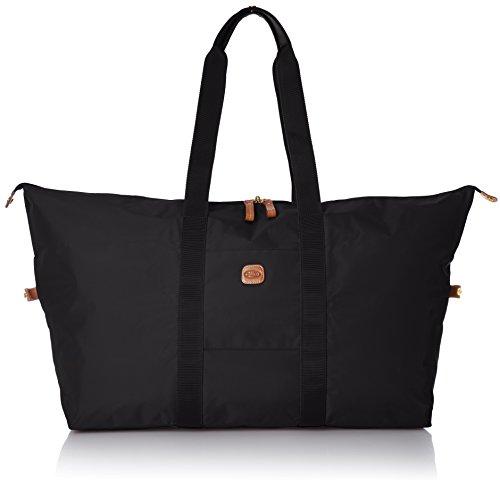 Bric Bag - Bric's X x-Travel 2.0 22 Inch Cargo Overnight/Weekender Folding Duffle Duffel Bag, Black, One Size