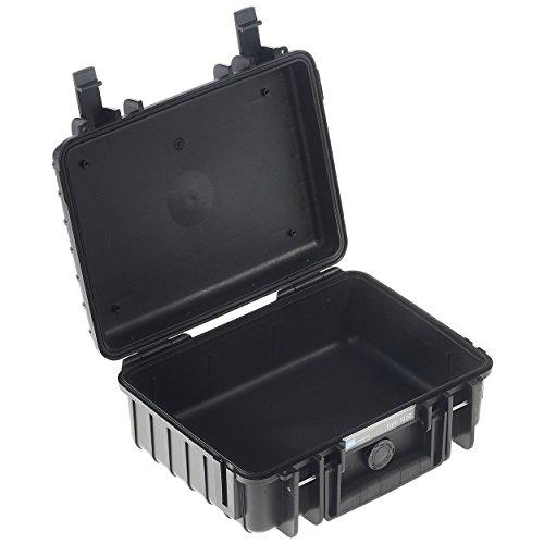 B&W Outdoor Cases Typ 1000 leer (ohne Inhalt) schwarz