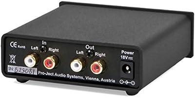 Pro-Ject Head Box S Audiophile Headphone Amplifier in Silver