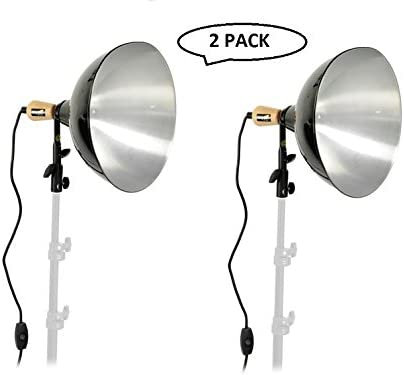 Impact 12 Reflector Floodlight Kit 120VAC 2 Pack