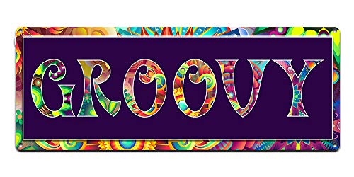 Groovy ~ 60s Era Hippie Quotes Wall Decor ~ 6