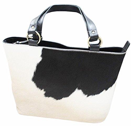 11sunshop BAG-CARRY - Bolso al hombro para mujer Blanco blanco M