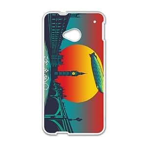 Led Zeppelin Sunset HTC One M7 Cell Phone Case White JN78822K