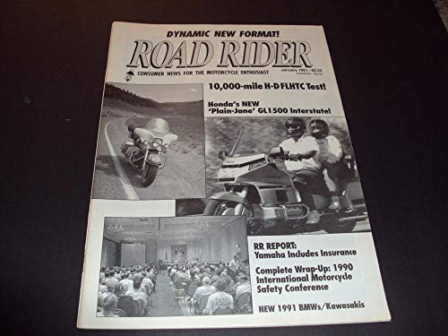 Road Rider Jan 1991 1990 International Motorcycle Safety Conference