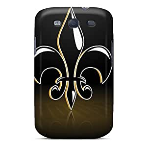 Anti-scratch And Shatterproof New Orleans Saints Phone Case For Galaxy S3/ High Quality Tpu Case