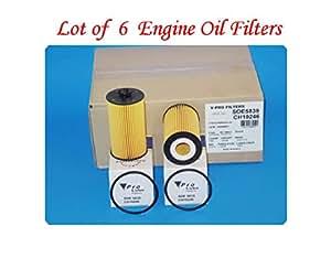 lot of 6 soe5839 l15839 engine oil filter. Black Bedroom Furniture Sets. Home Design Ideas