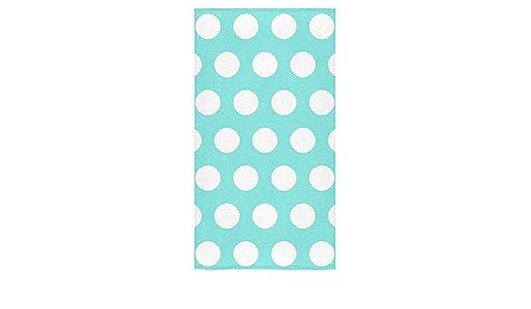 //–/Blanco W//Azul /3/Pieces Set/ + + toalla para la cara Lunares Toallas De Ba/ño/ /Toalla de mano toalla de ba/ño