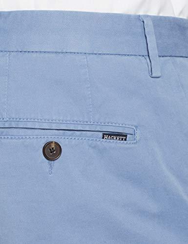 Uomo Kensington Blu Slim Chino London dusty Azure Hackett Pantalone Da 5ip B1WSqYyHPc