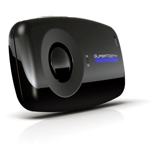 SuperTooth One Bluetooth Visor Speakerphone Car Kit - Black by Supertooth (Image #2)
