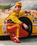 Sterling Marlin signed 8x10 Photo Kodak Film NASCAR - Autographed Horse Racing Photos