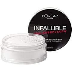 Discover our pro-inspired translucent loose setting powder that locks in makeup and controls shine all day. The micro-fine formula blurs lines and pores for a smooth finish. Translucent powder creates a soft focus, matte effect as it sets mak...