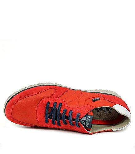 CALLAGHAN Squalo, Scarpe Stringate Oxford Uomo Rosso