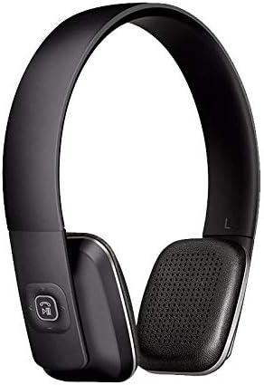 Ombuds Jackrabbit - Wireless Bluetooth Headphones - On-Ear Style - Mic for Phone Calls - Optional 3.5mm Jack (Matte Black)