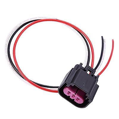 Flex Fuel Sensor Connector Pigtail Replace for GM E85, 13577394 Plastic Fuel Composition Ethanol: Automotive