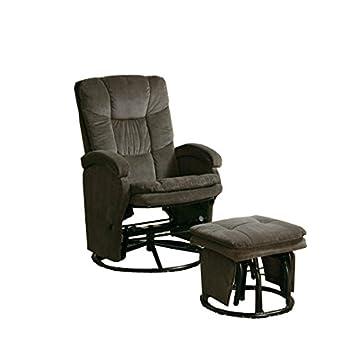 Amazon.com: Posavasos con Otomano reclinable planeador en el ...
