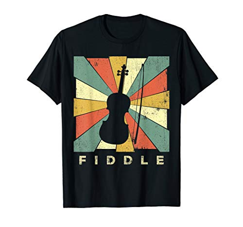 Vintage Fiddle Player Music Retro Gift ()