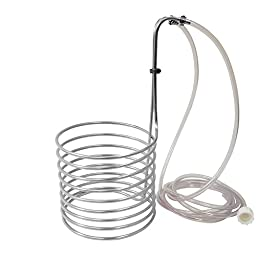 NY Brew Supply Stainless Steel Wort Chiller, 1/4\