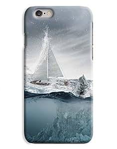 Arctic Sailing iPhone 6 Plus Hard Case Cover wangjiang maoyi