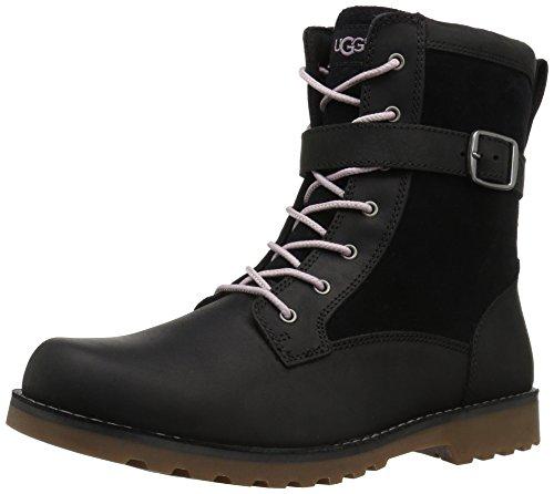 UGG Kids K Koren Boot, Black, 5 M US Big - Boots 5 Youth Size Ugg