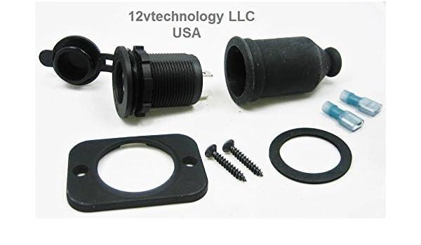 boot marine 12 v Lighter accessory socket locking plug
