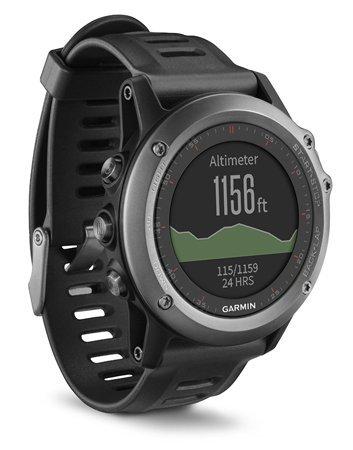 Garmin Fenix 3 GPS Fitness Watch Gray (Certified Refurbished)