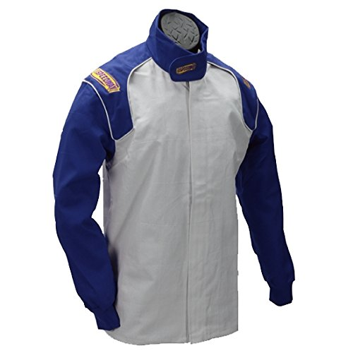 Black Racing Jacket Only, SFI-1, Large by Speedway Motors