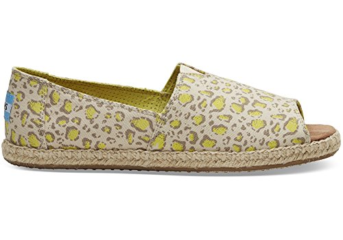 TOMS Classic Limeaid Bobcat Open-Toe Sandals 10009843 Womens 8.5 - Sandals Toe Classic Open