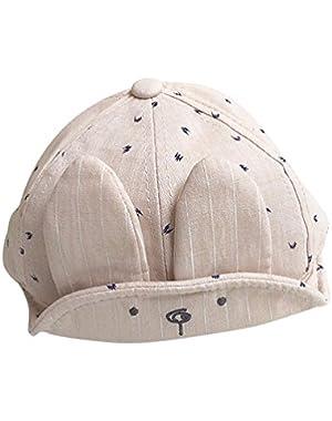 Toddler Boys Girls Long Ears Baseball Cap Summer Visor Cap Hat